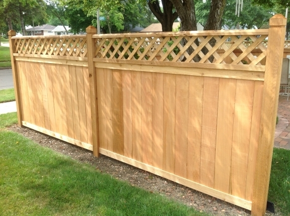 Cedar Wood Fence Panels