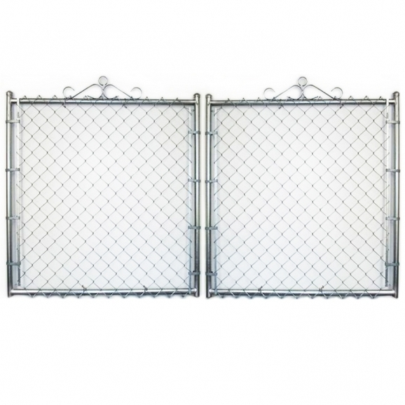 Gorgeous Chain Link Fence Gate Shop Common 6 Ft X 12 Ft Actual 6 Ft X 115 Ft Galvanized