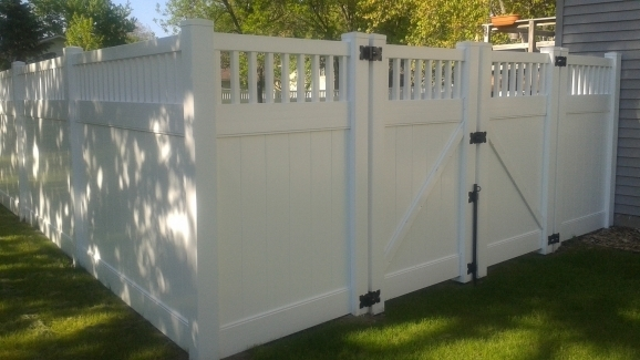 Image of Vinyl Privacy Fence Lakeland Vinyl Privacy Fence Authority Fence