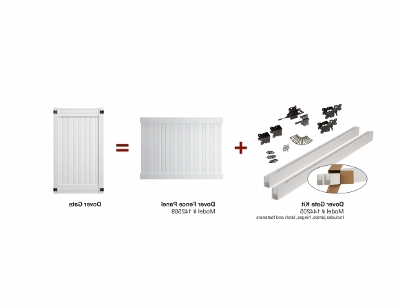 Vinyl Fence Gate Kit