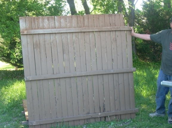 Used Fence Panels