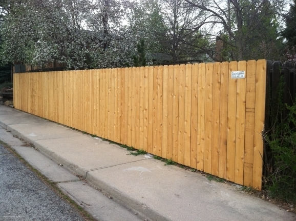 Dog Ear Privacy Fence