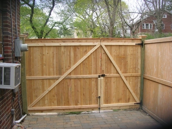 Wood Fence Gate Design