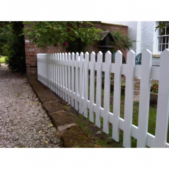 White Picket Fence Panels