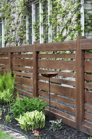 Remarkable Horizontal Fence Designs 25 Best Ideas About Horizontal Fence On Pinterest Backyard