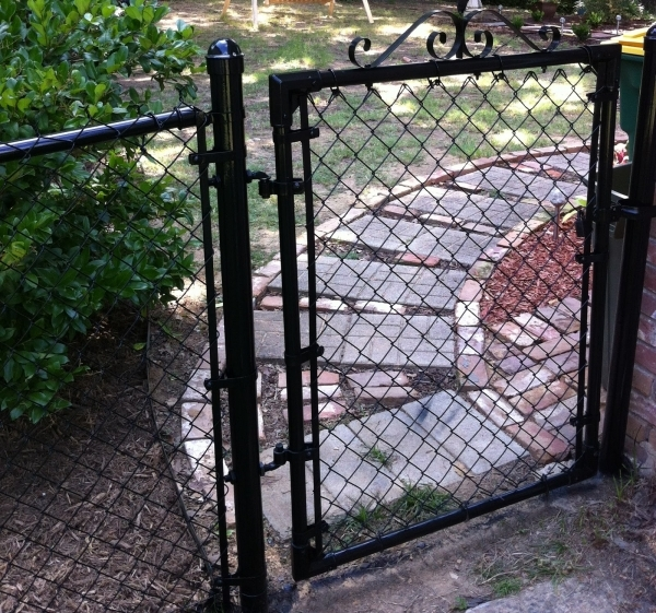 Painting A Chain Link Fence