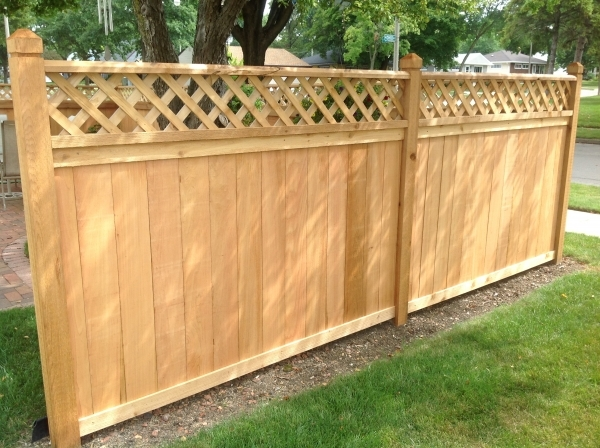 Wood Fencing Panels