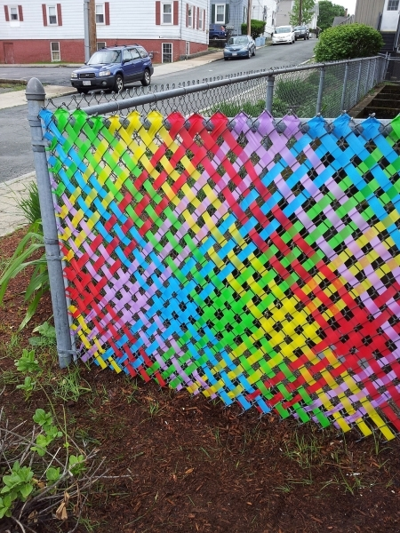 Chain Link Fence Weave