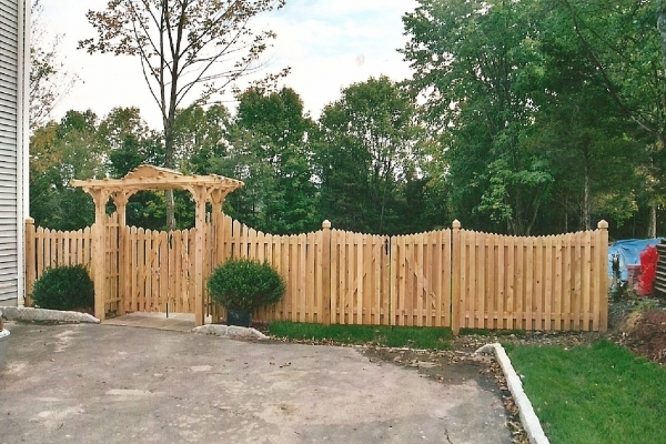 Menards Wood Fencing