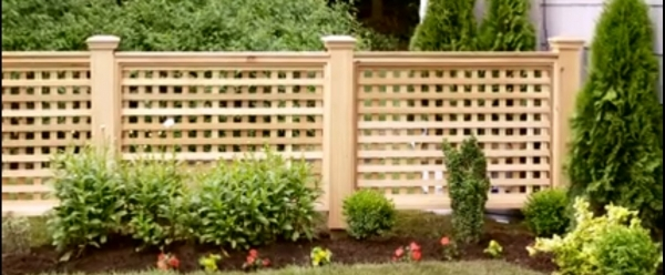 Awesome Wood Lattice Fence How To Build Your Own Wood Lattice Fence