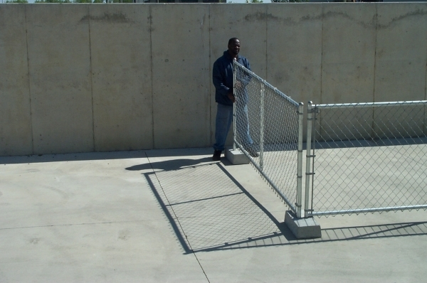 Portable Chain Link Fence