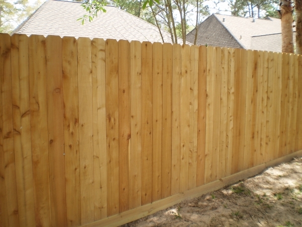 Pictures Of Wood Fences