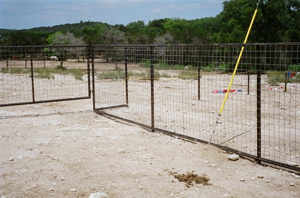 Cattle Panel Fence Design