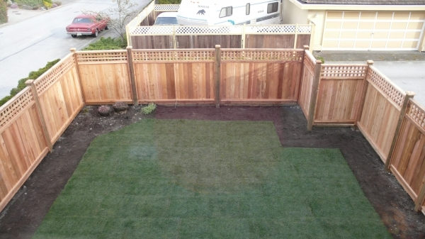 Wood Fence Sections