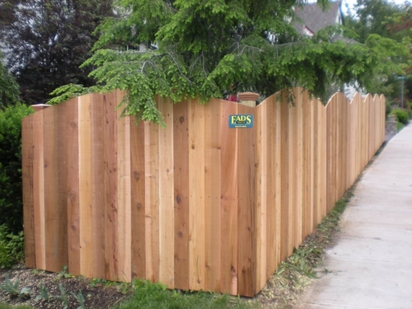 Rolled Wood Fencing