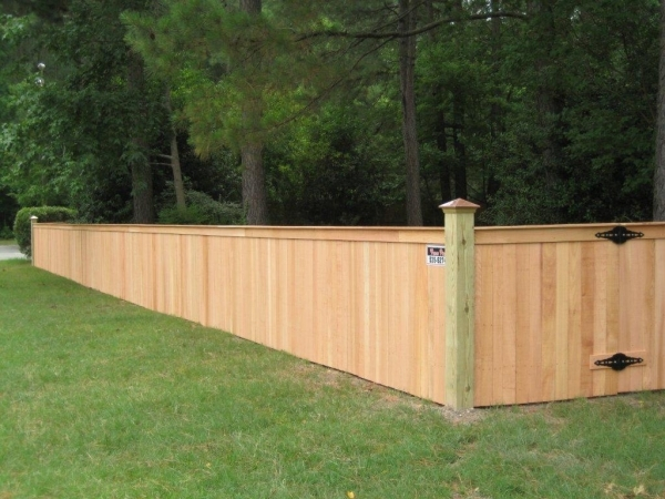 4 Foot Wood Fence