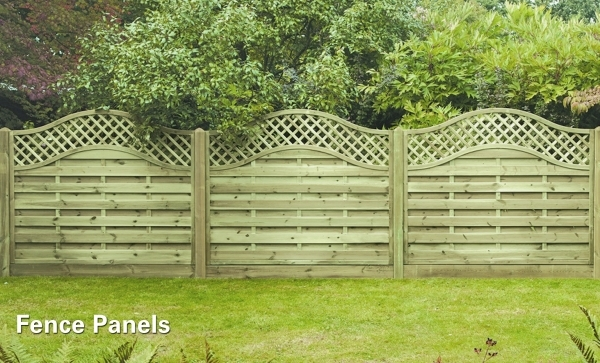 Lattice Fencing Panels