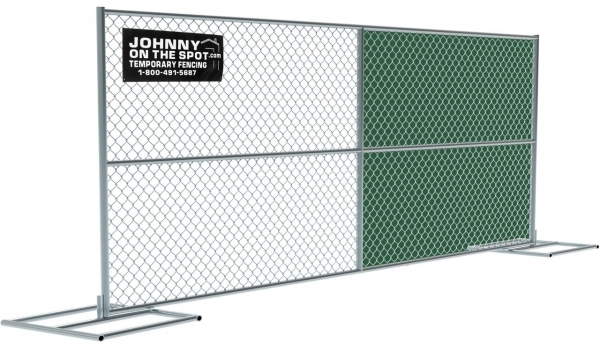 Stunning Chain Link Fence Panel Temporary Fencing Johnny On The Spot
