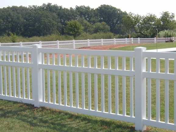 Vinyl Picket Fence Panels