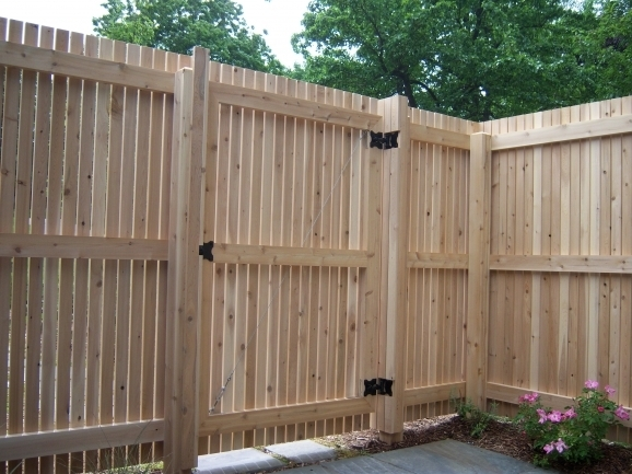 Privacy Fence Gate