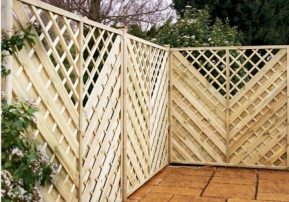Trellis Fence Panels