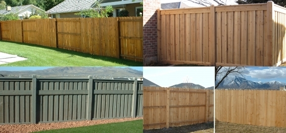 Privacy Fencing Materials