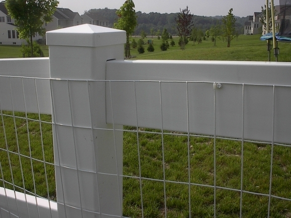 Vinyl Coated Wire Fence