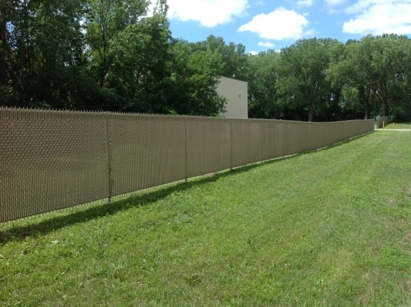 Chain Link Fence Screen