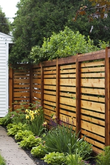 Privacy Fence Ideas For Backyard