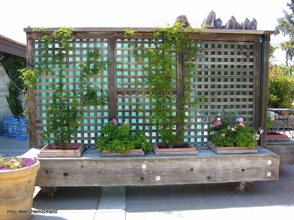 Planter Fence Ideas