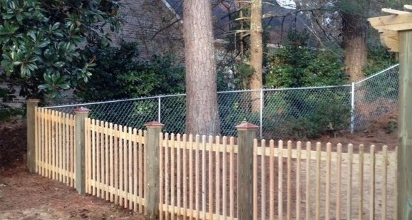 Wood Slats For Chain Link Fence